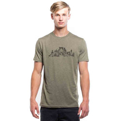Overgrown City Olive Night T-Shirt -Men's - The Offroader