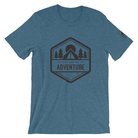 Men's  Say Yes To Adventure Tee - The Offroader