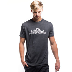 Overgrown City Phantom Black T-Shirt - The Offroader