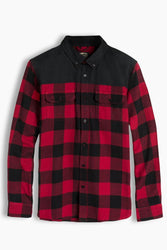 Men's Red Plaid Wenham Shirt - The Offroader