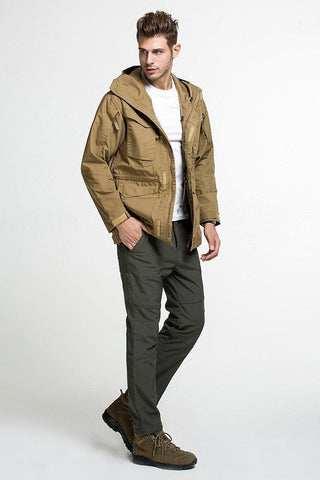 Men's Military Style M-65 Field Jacket - The Offroader