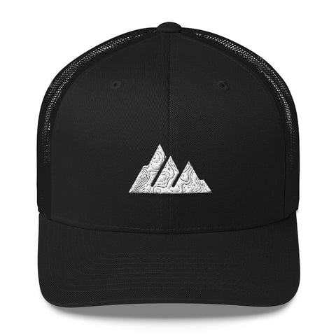 The Offroader Supply Co.™ Classic Mountain Topo Trucker Hat