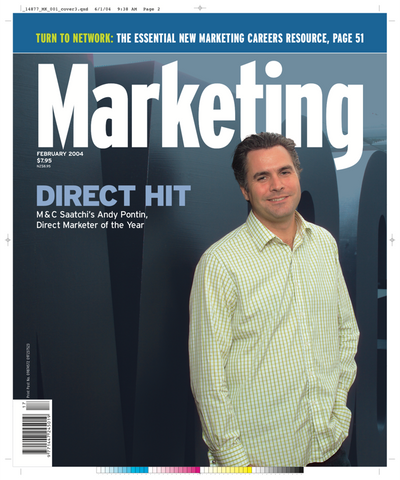 Marketing Mag February 2004 – Andy Pontin