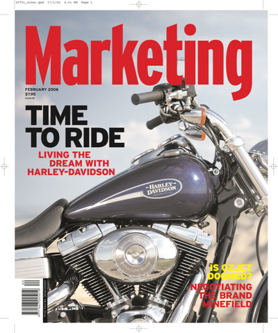 Marketing Mag February 2006 – Harley Davidson