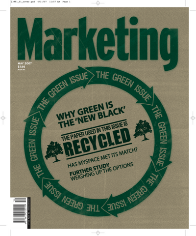 Marketing Mag May 2007 – The Green Issue
