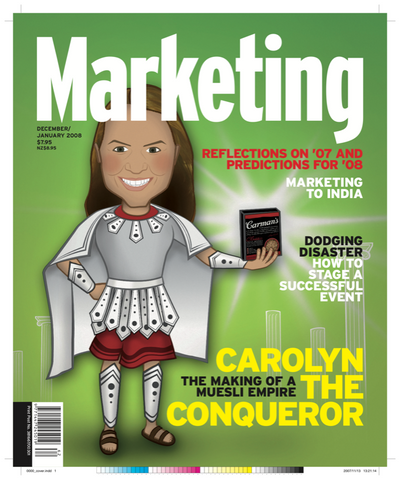Marketing Mag December 2007 – Carmens Muesli