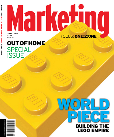Marketing Mag April 2008 – Lego