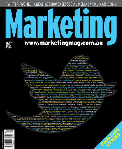 Marketing Mag March 2011 – Twitter