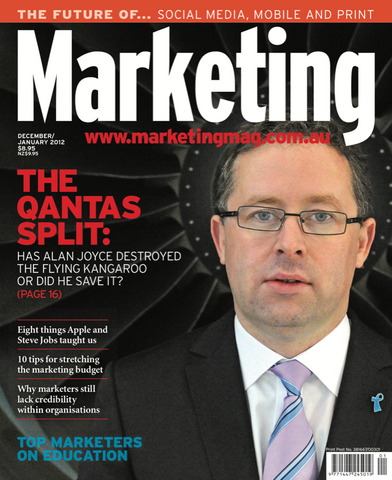 Marketing Mag December 2011 – Qantas
