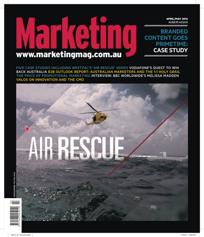 Marketing Mag Apr-May 2014 – Branded Content