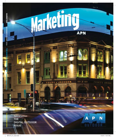 Marketing Mag Dec 2015 – The Outdoor Special Issue