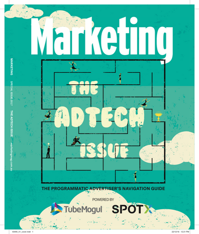 Marketing Mag Jan 2017 – The Adtech Special Issue