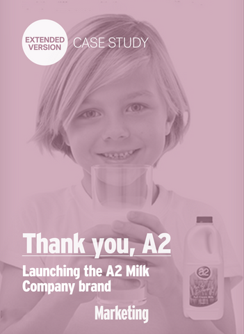 Thank You, A2: The Milk Brand's Story