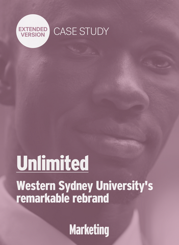 Unlimited: Western Sydney University's Remarkable Rebrand