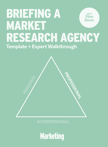 Briefing a Market Research Agency: Template & Expert Walkthrough