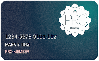 Pro Membership: unlock the entire marketing toolbox