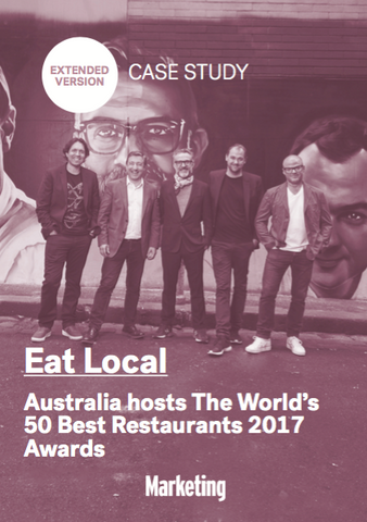 Tourism Australia hosts World's 50 Best Restaurants Awards