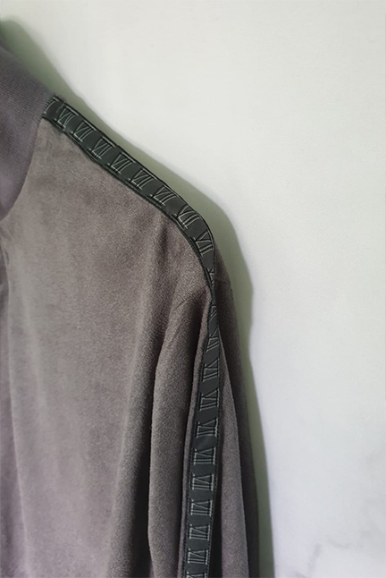 Space Grey Half Zip