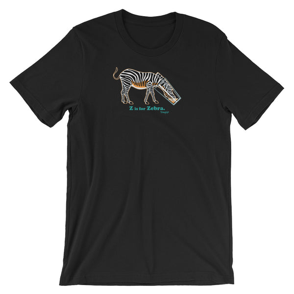 Z is for Zebra! - Short-Sleeve Unisex T-Shirt