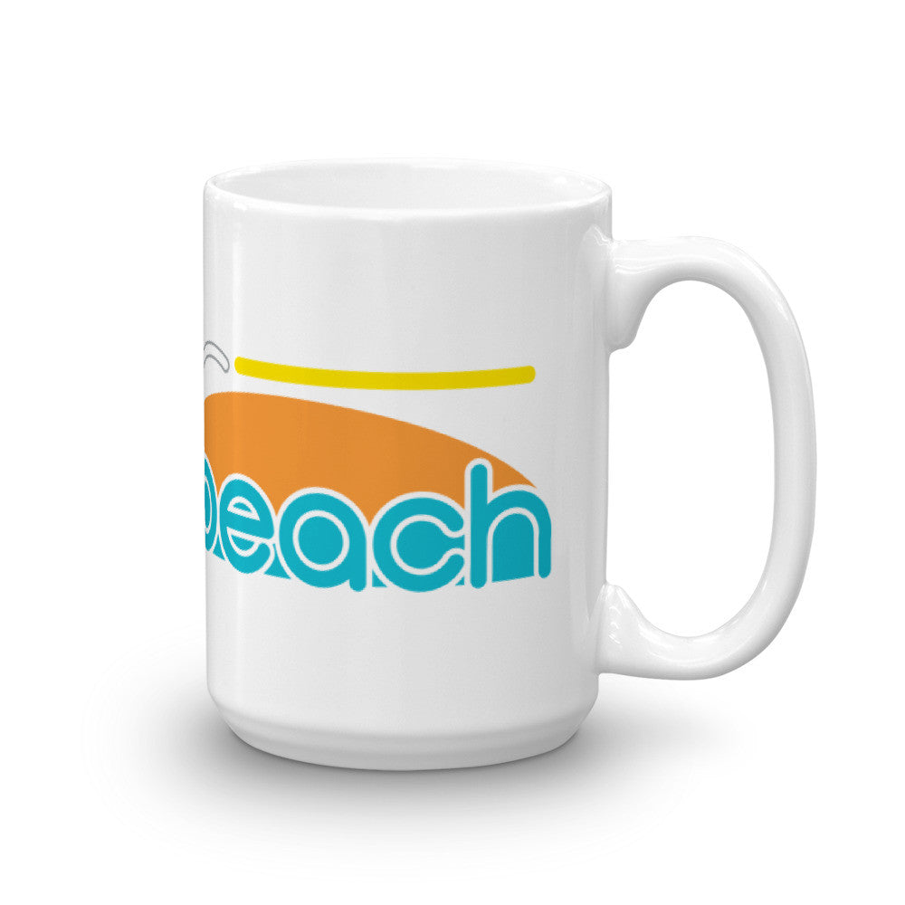 Ocean Beach - 15 oz. coffee mug