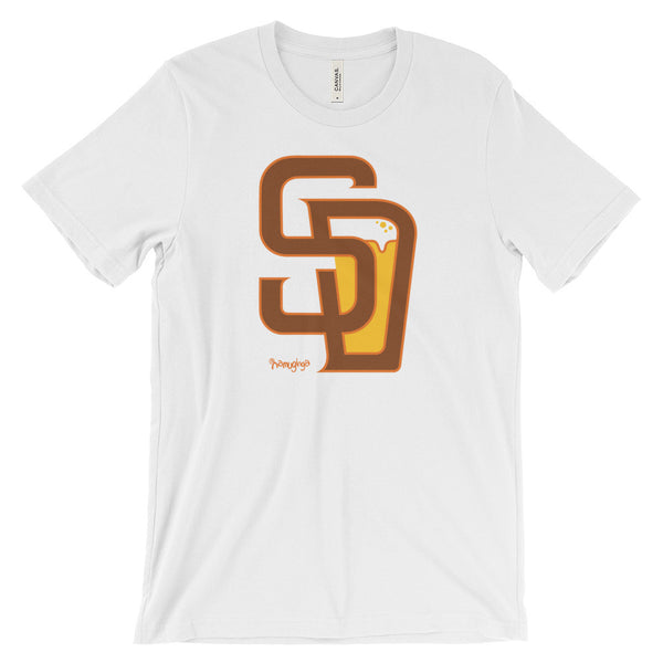 San Diego Baseball & Beer - unisex short sleeve t-shirt