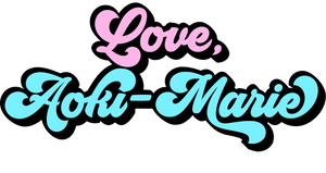 Love, Aoki-Marie Christian Apparel Logo