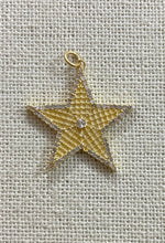 Load image into Gallery viewer, Silver Diamond STAR Pendent