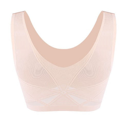 Wireless Comfortable Pull On Bra for Women - Everyday Seamless No Wire Lounge Bralette #11992