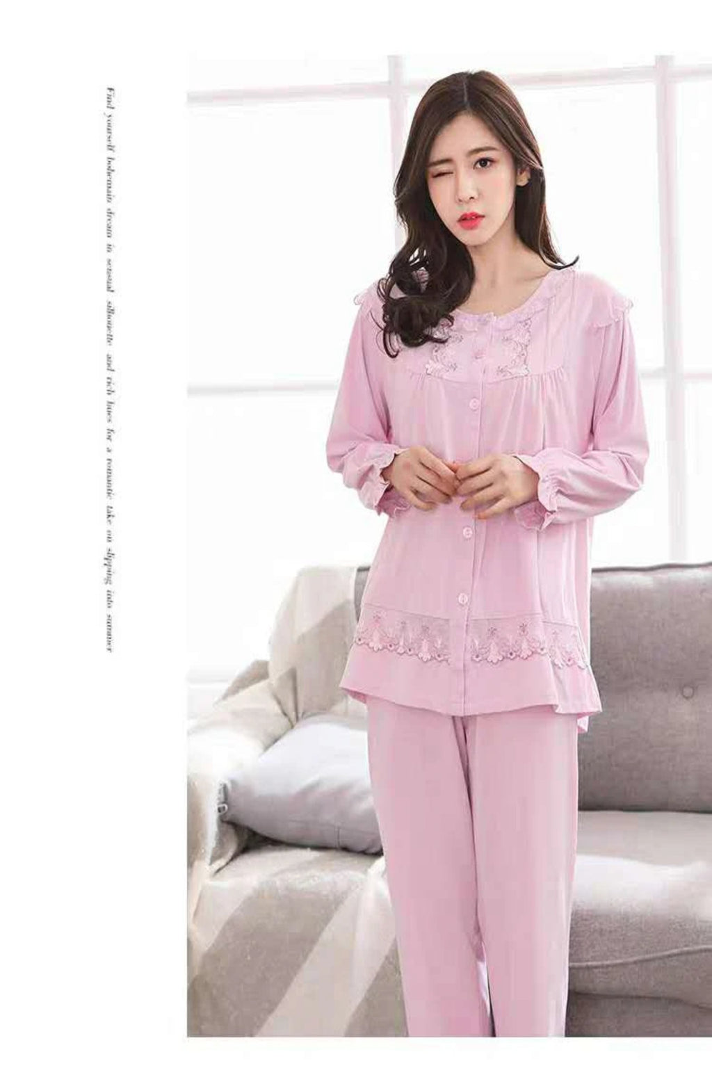 Floral Beauty Pajamas #87625
