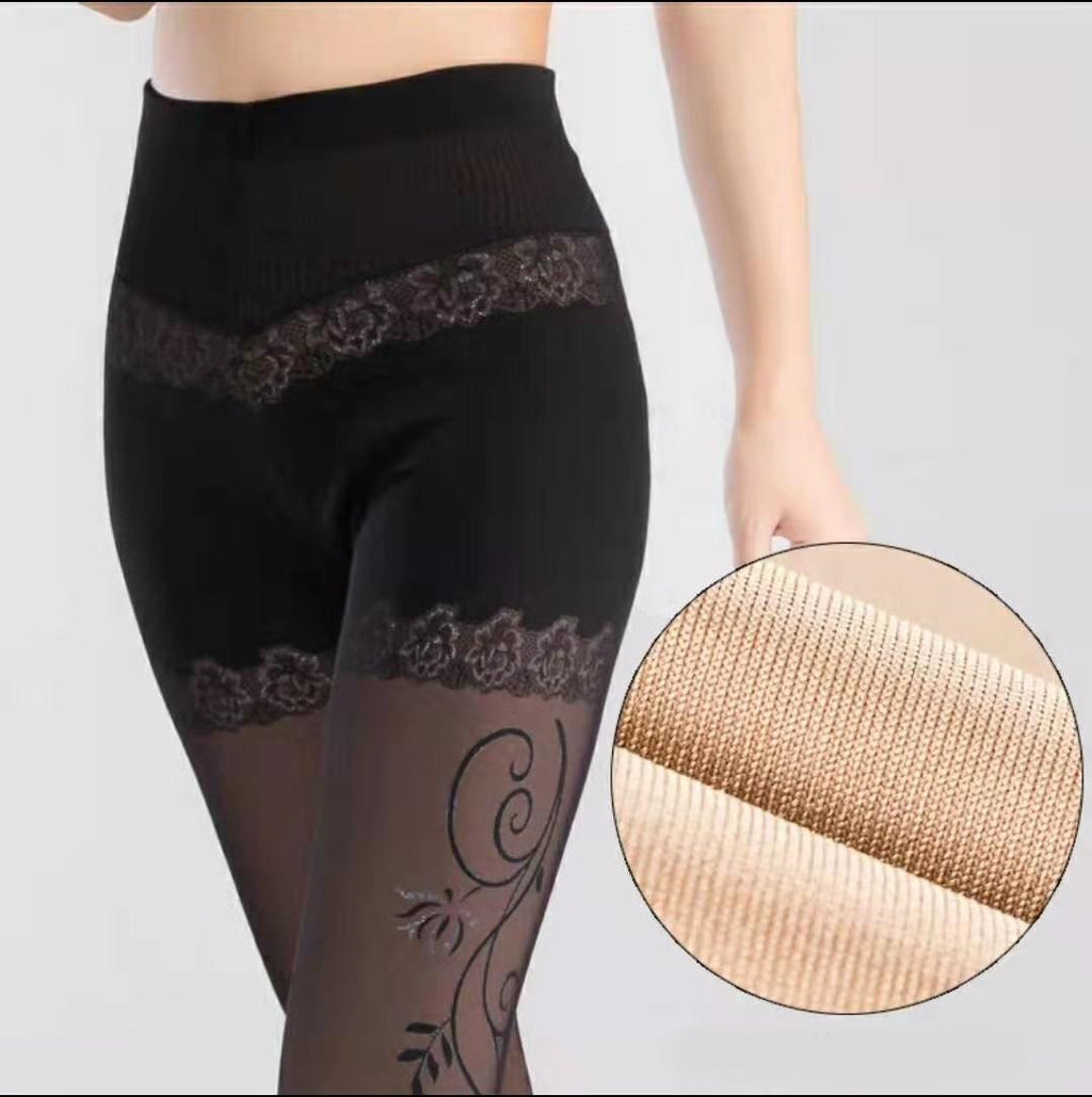 Bradoria Women's Patterned Tights Pantyhose Stocking - Fashion Leggings #80022