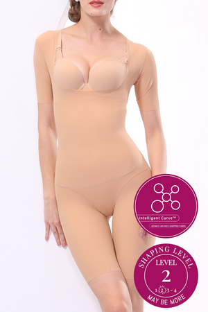 Bradoria Enhanced Power Shapewear - Full Body Tummy Control Shaper for Women #21031