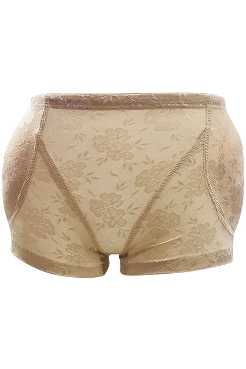 Intimate Floral Fake Buttock Hip Underwear #33803