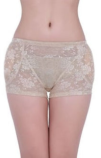 Underwear for Women with Floral Fake Buttock Hip Padded Design #33803