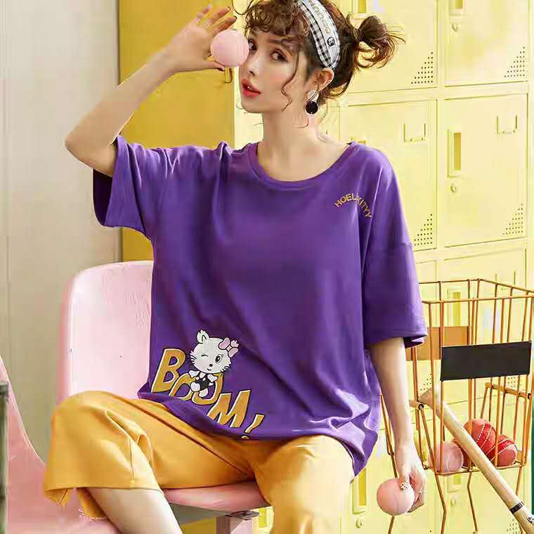 Cute Kitty Oversize Pajamas #5519