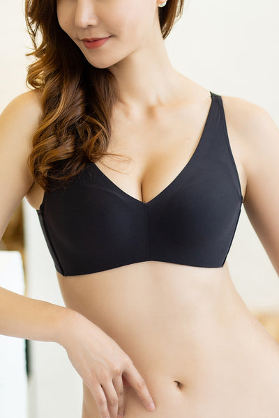 Alluring Comfortable Wireless Push-Up Bra #17012