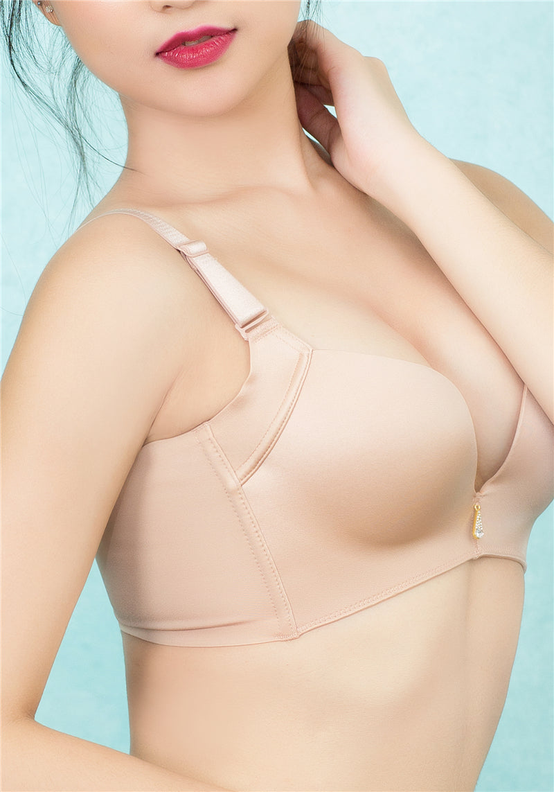 Seamless Simplicity Wireless Push-Up Bra #11617