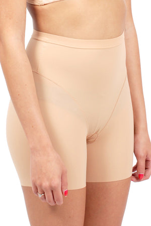 Tummy Control Thigh and Butt Shaper Slip Shorts for Women Silky Spandex Shorts #71253