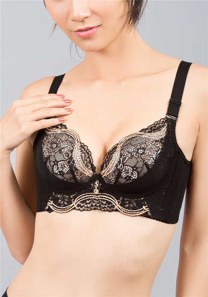 Spunky Wireless Push-Up Bra | Wireless & Comfort Bra