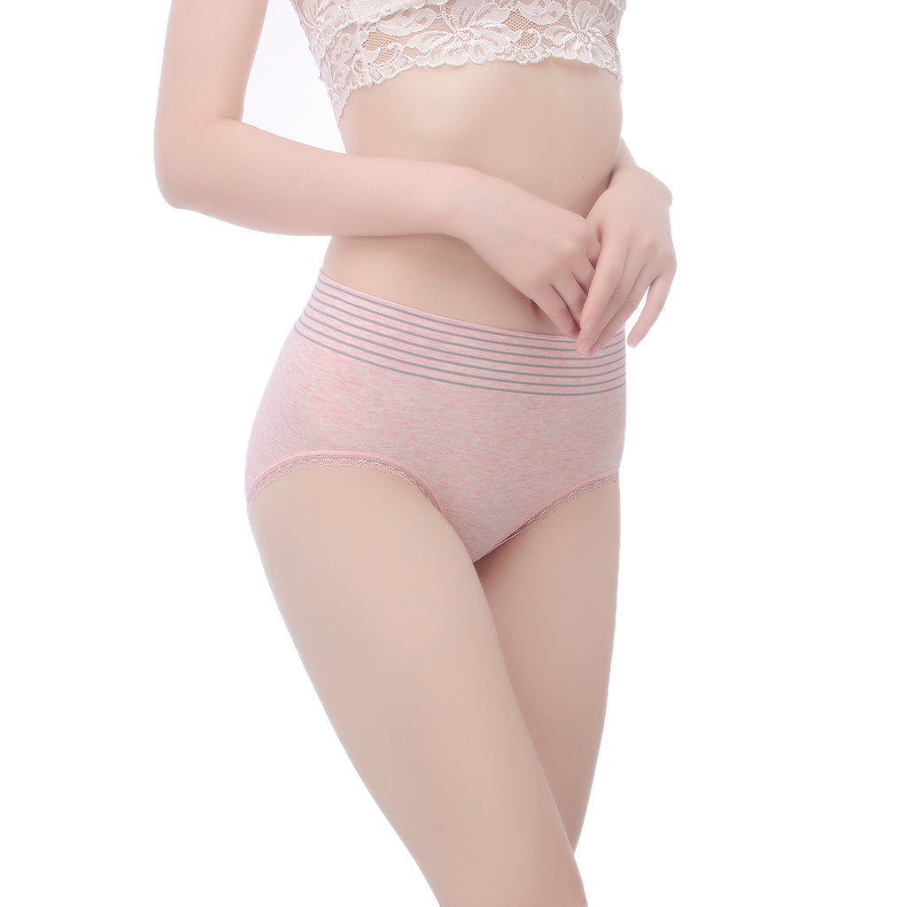 AirTouch Comfy Striped Panties for Women with Seamless Cut Underwear - Every Day Wear Panty #50030