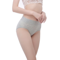 AirTouch Comfy Striped Panties for Women with Seamless Cut Underwear - Every Day Wear Panty