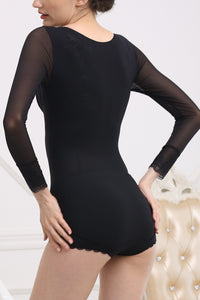 Rompers for Women with Fashion-Laced Intelligent Curve Body Shaper #21037