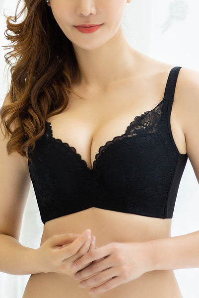 Graceful Embroidered Mold Cup Bra #15618
