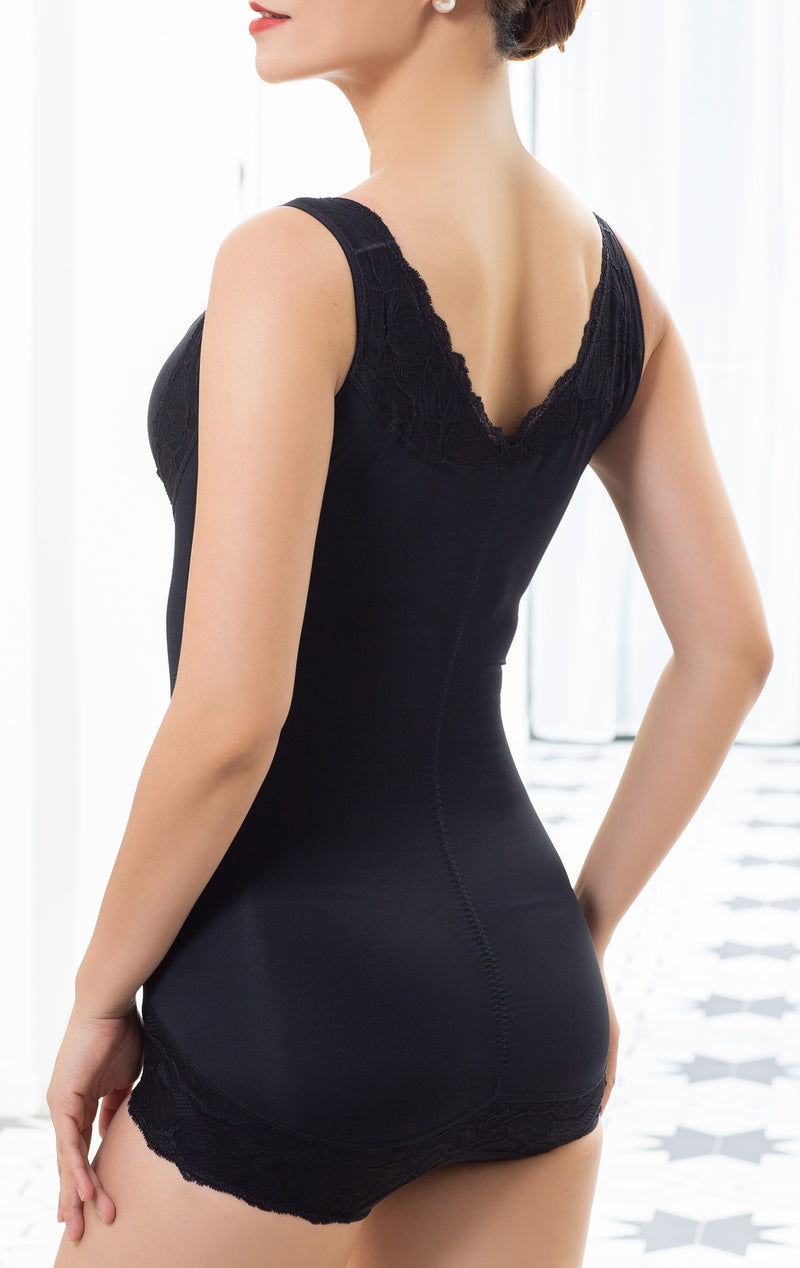 Sleeveless Aloe Vera Intelligent Curve™ Full Body Shaper #21519