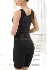 Bradoria Tummy Control Shapewear Shorts for Women with Lace Mesh Design #23811
