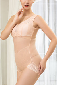 Bodysuit for Women - Lingerie Fashion Lace Shapewear with Open Bust Design #21702