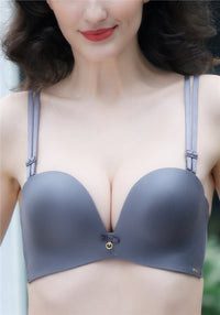 Fashionable Three-Hook Push-Up Bra | Perfect For Summer