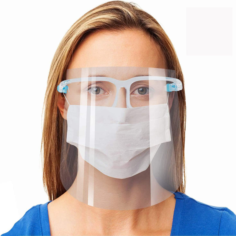 Reusable Transparent Face Shield Goggles #80026