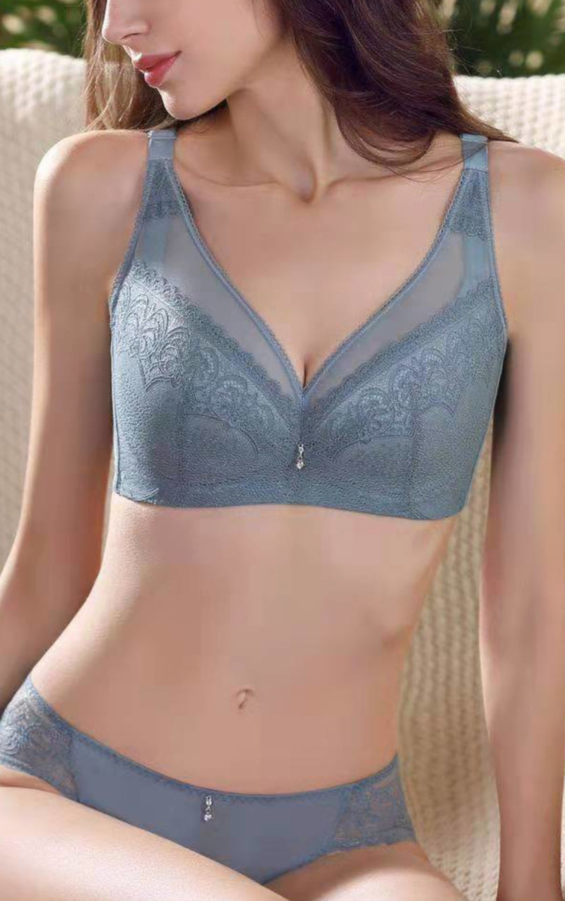 Lace Support Pushup Bra #11913