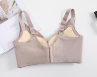 Seamless Bra for Women - Lace Wireless Push-Up Bra #11663