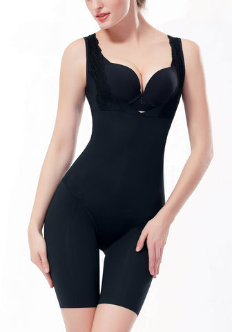 Sleeveless Aloe Vera Full Body Shaper | Shapewear